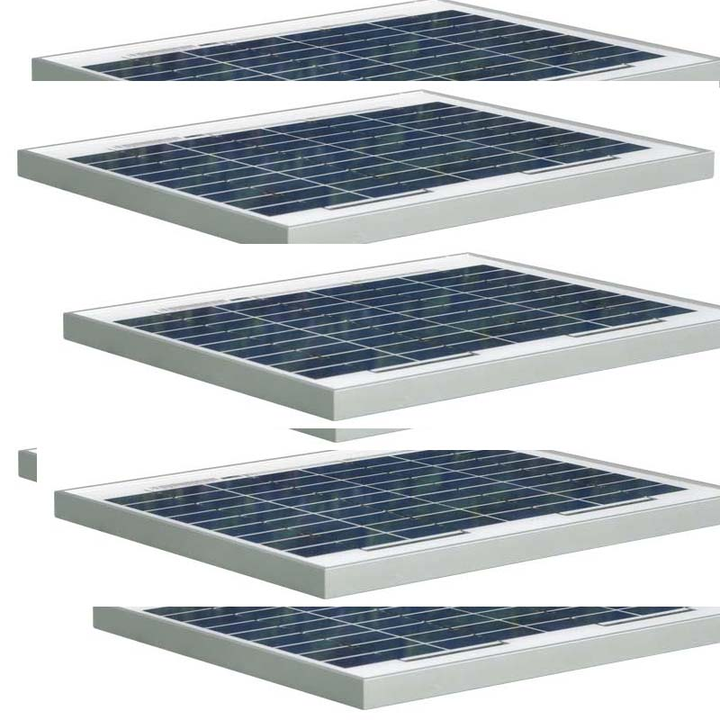 Grade A Monocristallin 12 v 10 w Solaire Prix Panneau Chine Panneaux Photovoltaïques 50 w Solaire Chargeur Batterie De Voiture Caravane camp