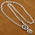 Классический орел перо ожерелье с цепочкой 100% стерлингового серебра 925 ожерелье для женщин и мужчин серебро 925 ювелирные изделия GN01