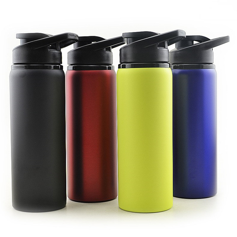 Stainless Steel Free Leak Proof Strong Sports Water Bottle Portable Motion High Quality Tour Hiking Portable Bottles 700Ml