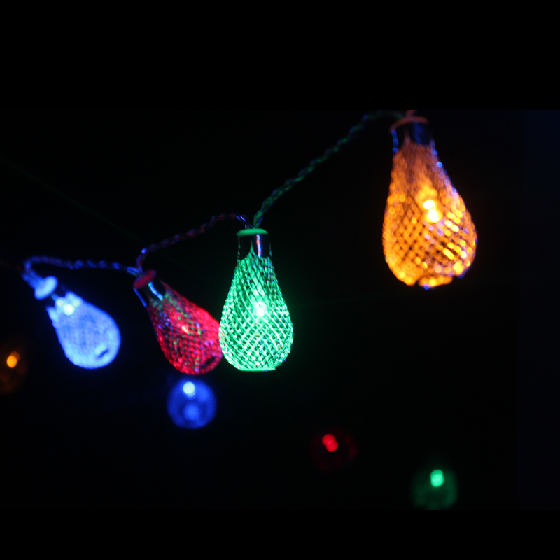 Novelty Outdoor lighting 2M LED Ball string string Christmas Lights - Pencahayaan perayaan - Foto 2