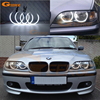 Excellent Ultra Bright Headlight Illumination CCFL Angel Eyes Kit For BMW E46 Sedan Facelift 2001 2005