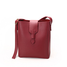 Famous Brand Womens Bag 2019 New Simple Fashion Bucket Type Crossbody Shoulder Elegant and Trend