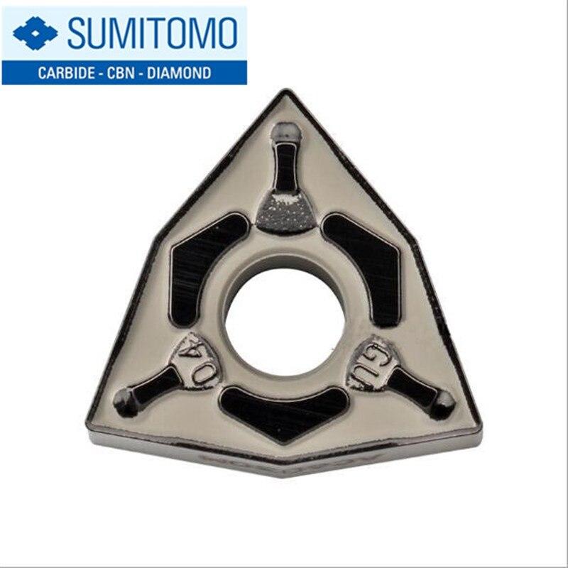 WNMG080404N GU AC6030M WNMG080408N GU AC6030M original SUMITOMO carbide turning tip Lathe Insert turning tool holder