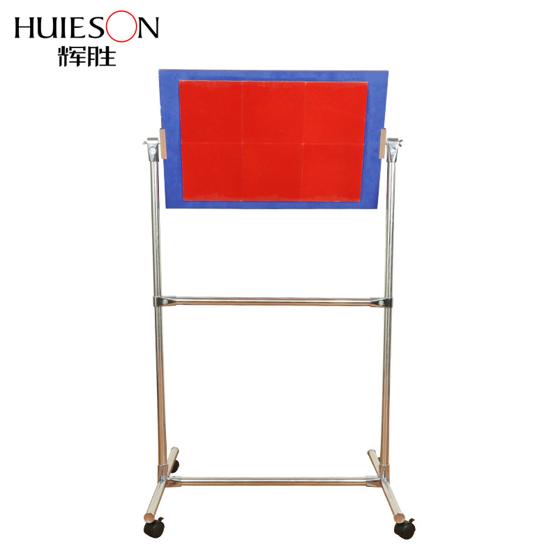 Huieson Mobile Table Tennis Rebound Board with Rolling Wheels for Self Training Table Tennis Single Practice Rebound Board New table