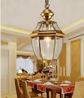American soldering light copper lamp copper lamp balcony pendant light entranceway pendant light pendant light ZL308