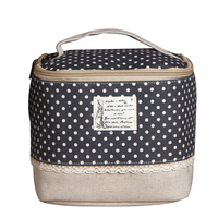 New Creative Fashion Waterproof Portable Insulation Pack Lunch Bags Hand Carried Bag Garden Cotton Incorporated Box