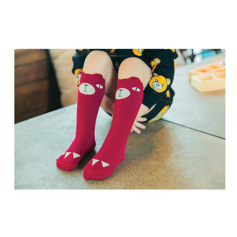 2017-Cartoon-Cute-Children-Socks-Bear-Animal-Baby-Kids-Cotton-Socks-Knee-High-Long-LegWarmers-Cute-Socks-Boy-Girl-socks-1-6-Y-2