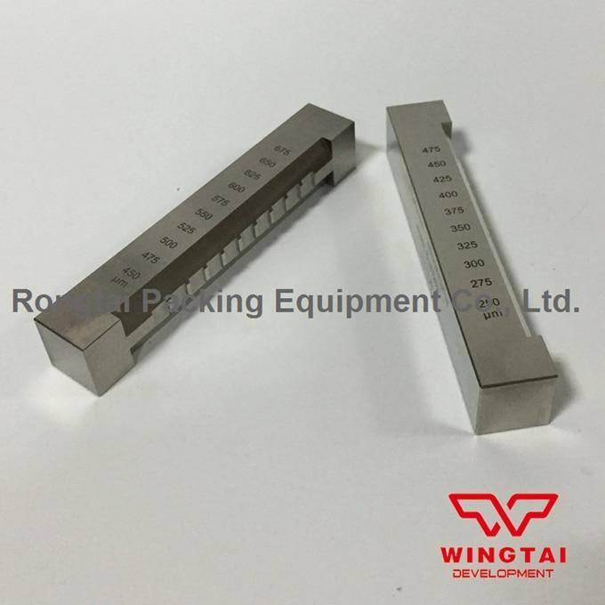 250-475um Stainless Steel Sag Tester BGD225/2 Sagging Tester For Print Industry srt 6223 0 800 um surface roughness tester price