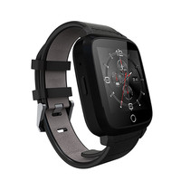Shzons U11S 3G Smartwatch With GPS WiFi LCD Screen Camera Heart Rate Monitor Bluetooth Smart Watch