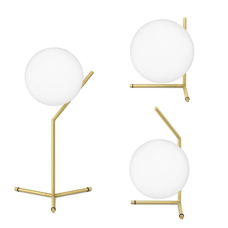 Moderno Toolery G9 lâmpada criativa Mesa de Luz abajur de vidro Branco lâmpada de mesa simples de escritório luz lâmpadas personalidade decoração