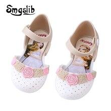 Mother Kids - Childrens Shoes - Girls Shoes Kids Sandals Princess Party Dress Shoes Cartoon Pattern Sandalia Infant Kids Summer Children Soft Bottom Sandals