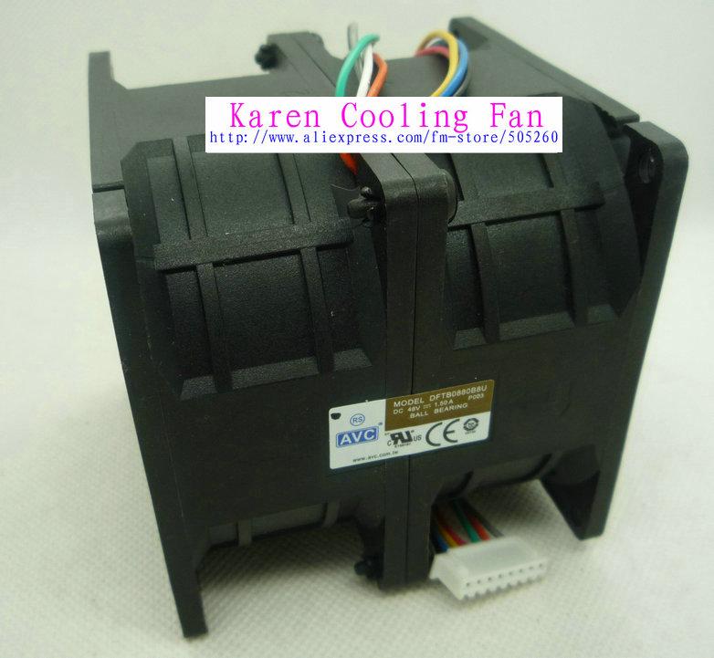 NEW ORIGINAL AVC 8080 48v 1.50a DFTB0880B8U 8CM modified car Cooling fan megadeth megadeth dystopia
