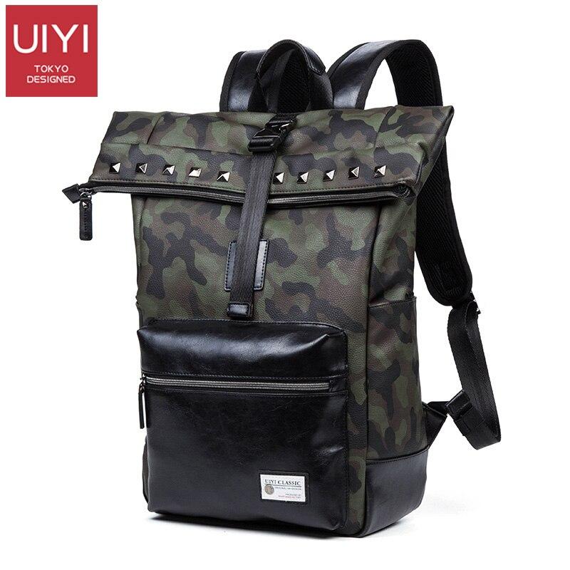 Original camouflage backpack shoulder bag Men s outdoor travel bag Korean version of the trend casual