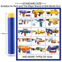 100 Pcs 7.4cm EVA Toy Bullets for Nerf Retaliator Series Blasters Refill Clip Darts for Children Toy Gun Accessories Kid