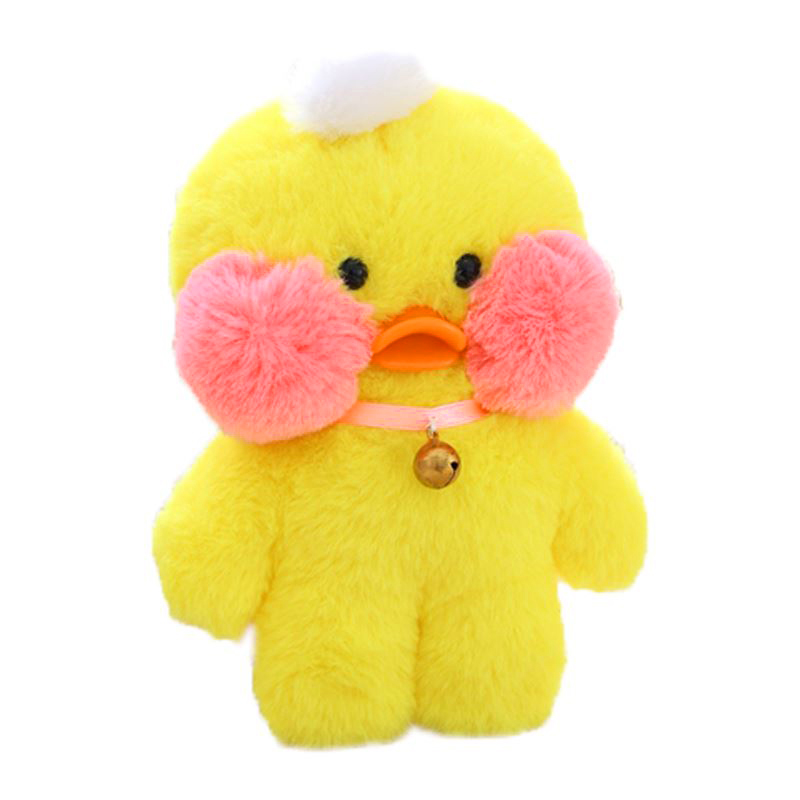 LCLL-INS Cafe Plush Figure Toys Duck Stuffed Animal The Internet Star Hyaluronic Acid Duck Mini