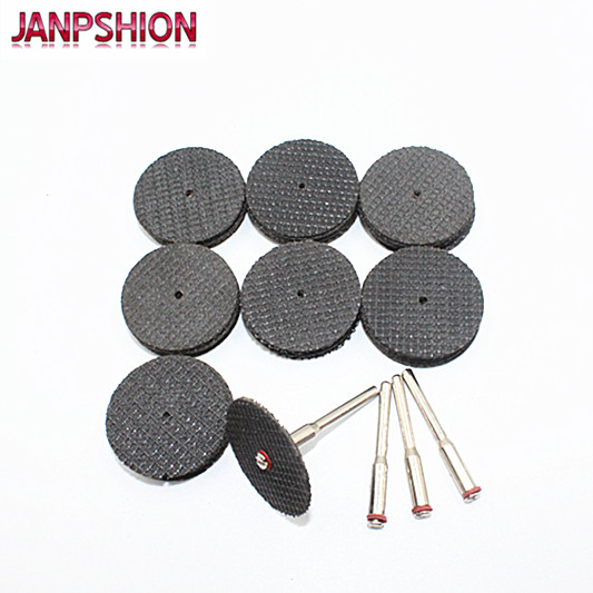 50PC Fiberglass Cutting Disc for Dremel Rotary Tool with 4 Mandrel