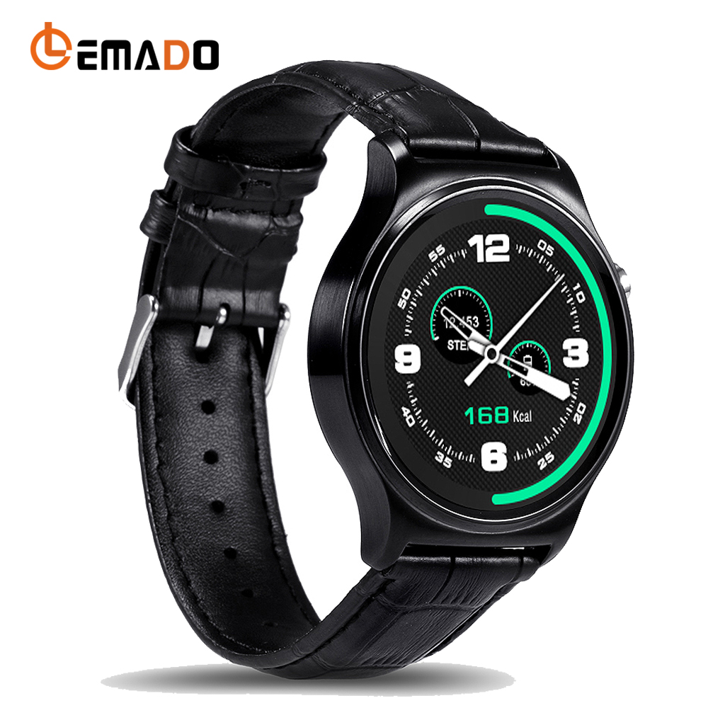 Lemado New GW01 Smart Watch Bluetooth IPS Life Waterproof Sports Round Screen SmartWatch For Huawei Apple Android IOS Phones fashion gw01 smart watch bluetooth 4 0 smartwatch heart rate monitor for android 4 3 ios 7 ips round screen life water resistant
