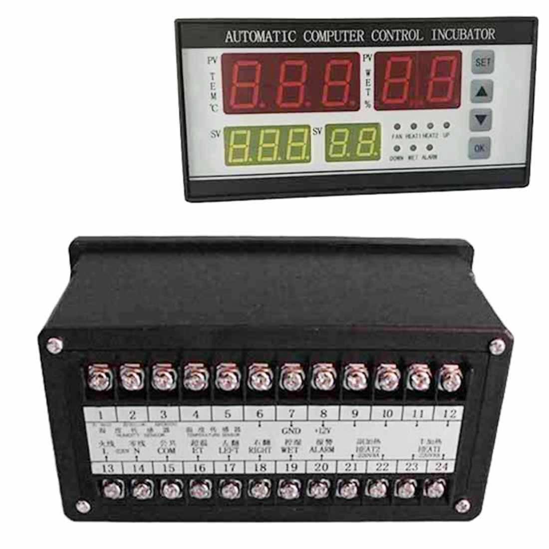 160-24 В термометр микрокомпьютера инкубатора Температура Управление влажностью интеллектуальные Управление; специально для инкубационное ...