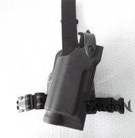 Whit Light Airsoft Safariland Duty Holster Tactical Holster Gun Pistol Leg Holster Right Hand Fit For