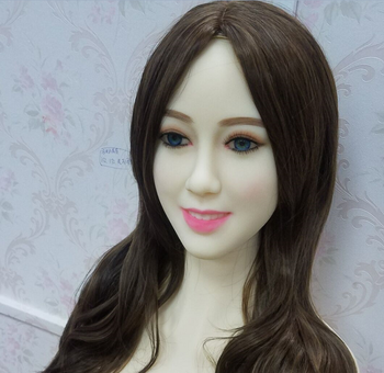 #107 Japanese sex doll head for big size silicone doll 135cm/140cm/148cm/153cm/152cm/155cm/158cm/163cm/165cm/170cm/176cm