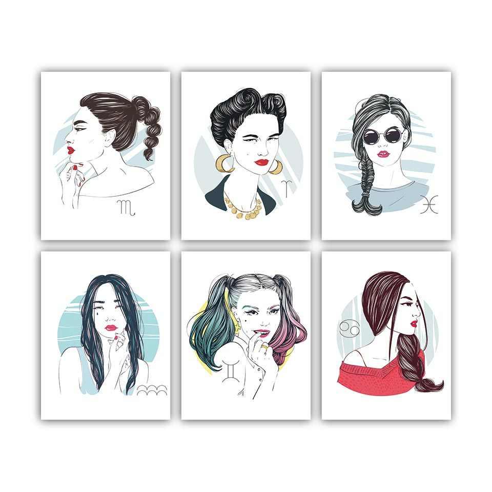وحدات قماش اللوحة يطبع الشمال الأزياء نموذج المنزل غرفة الديكور جدار البوب الفني الإبداعية صور المشارك الساخن بيع