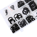 225 PCS 18 Sizes High Temperature One Case Rubber O Ring Kit Metric O-Ring Seals Set Nitrile Rubber High Quality
