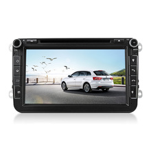 8 Inch 1024*600 2 Din Android 4.4.4 VW Car Audio DVD Player GPS For GOLF 6 Polo Bora JETTA B6 PASSAT Tiguan SKODA OCTAVIA 3G
