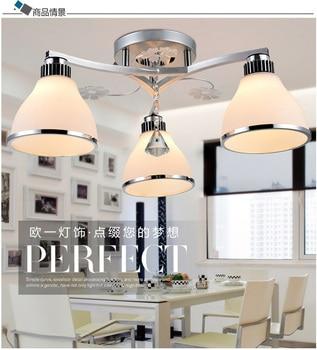 Mode K9 Cristal Lampes Plafonnier Salon Led Moderne b7y6gfY