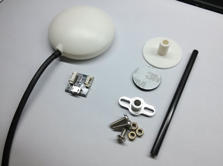 Ublox LEA-6H GPS Module w/Compass for APM Pixhawk Controller ublox neo m8n flight controller gps module with compass black plastic shell with 3m sticker for pixhawk pix4 apm apm2 52 apm 2 6
