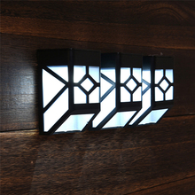 New Window Panes Lamp Solar Powered LED Light Spotlight Landscape Garden Yard Path Lawn Solar Lamps Outdoor Waterproof Sun Light