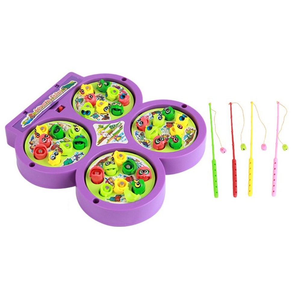 New 1 Set Colourful Plastic Magnetic Fishing Toys Set Baby ...