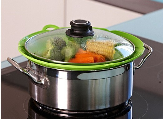 Multi-function-Cooking-Tools-Flower-Cookware-Parts-Green-Silicone-Boil-Over-Spill-lid-Stopper-Oven-Safe (2)