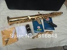Wholesale– xin hai Export gold plated soprano straight soprano saxophone saxophone