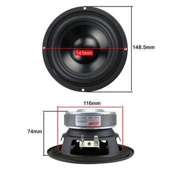 5.25 inch Woofer Speaker 4ohm 50W 6