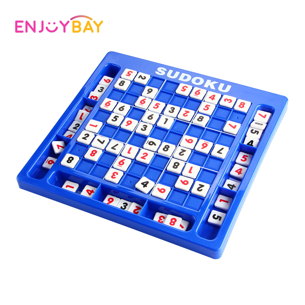 Classic Training Sudoku Board Game Table Toy Digital Chess Math Puzzle Learning Education Toys Sudoku Board Number Puzzle Game