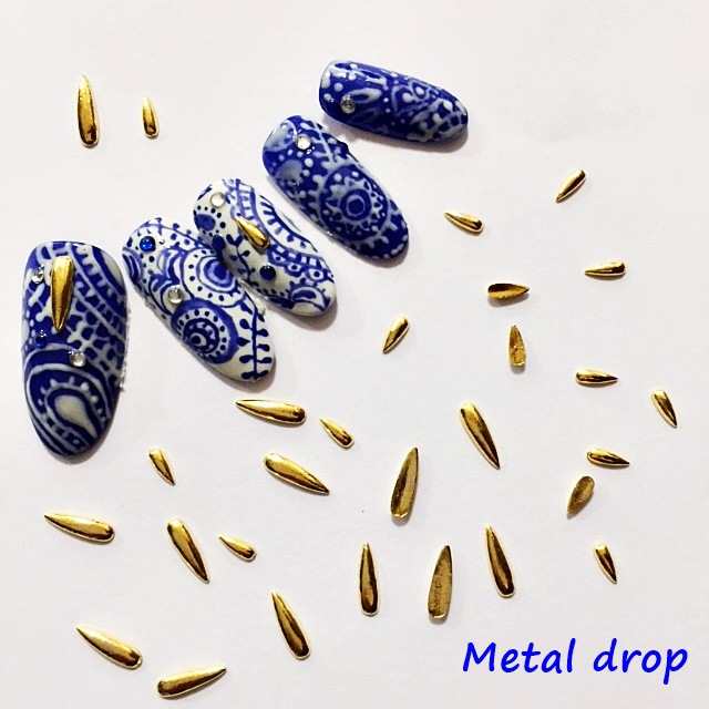 Aliexpress.com : Buy 10pcs/bag New Japan 3D Nail Art Deco Alloy Nail ...