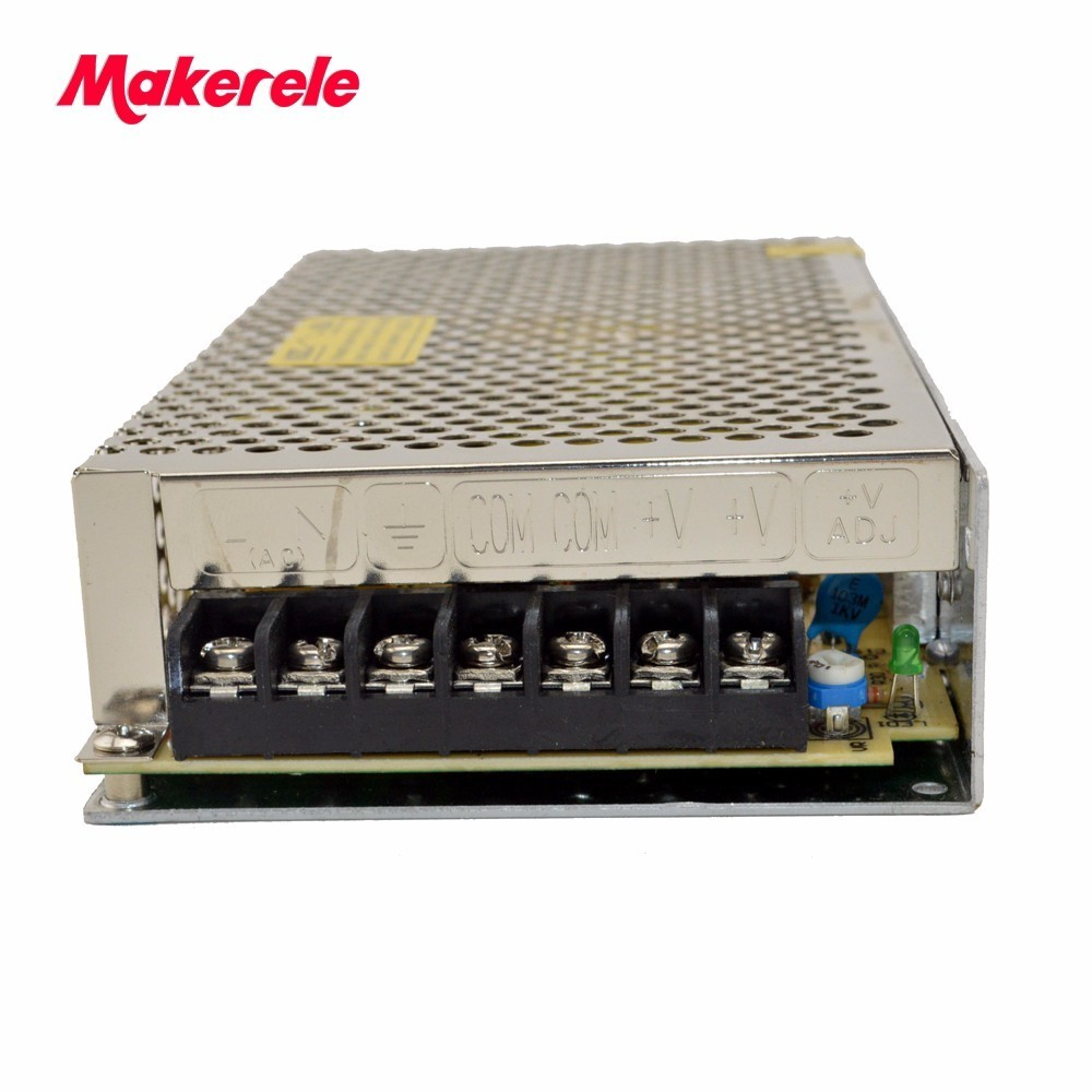 120w 16Amp Factory direct single group S-120-7.5 LED lighting project security monitoring AC to DC Switching Power Supply