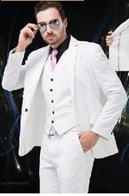 (jacket + pants + Vest + tie) 2018 new men for self-cultivation custom business dress, wedding suit, men's jacket, coat, trouser
