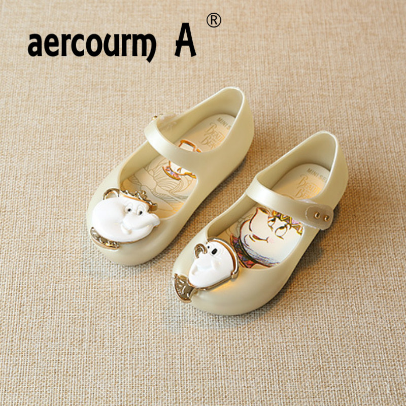 2a2db20121e2 Aercourm A 2018 Children Comfort Soft Sandals Jelly Incense Shoes Magic  Buckle Baby Shoes Summer Girls