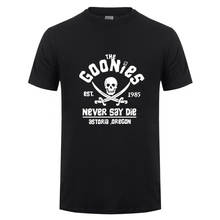 The goonies of astoria T shirts men Somalia pirate skull t-shirt homme one piece pirate king tshirt hombre fashion designer Tees