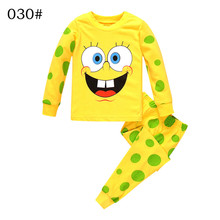 Boys Girls Long sleeve Cotton Sponge Cartoon Clothing Set Autumn Winter hoody Pants two pieces casual Size for 2,3,4,5,6,7 years
