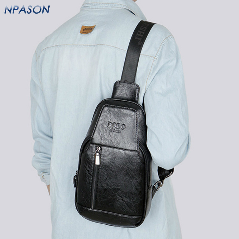 2018 Hot Sale Crossbody Bags for Men Messenger Chest Bag Casual New trendy single shoulder bag