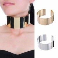 Fashion Jewelry Gold Chain Collar Choker Fringe Statement Pendant Bib Necklace