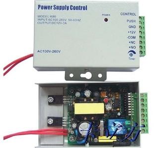 Kontrola mocy dostępu 12VDC 3A system kontroli dostępu do drzwi systemy kontroli dostępu zasilanie gorąca sprzedaży wysokiej jakości joycity tanie i dobre opinie Jedrek power-1 access control power