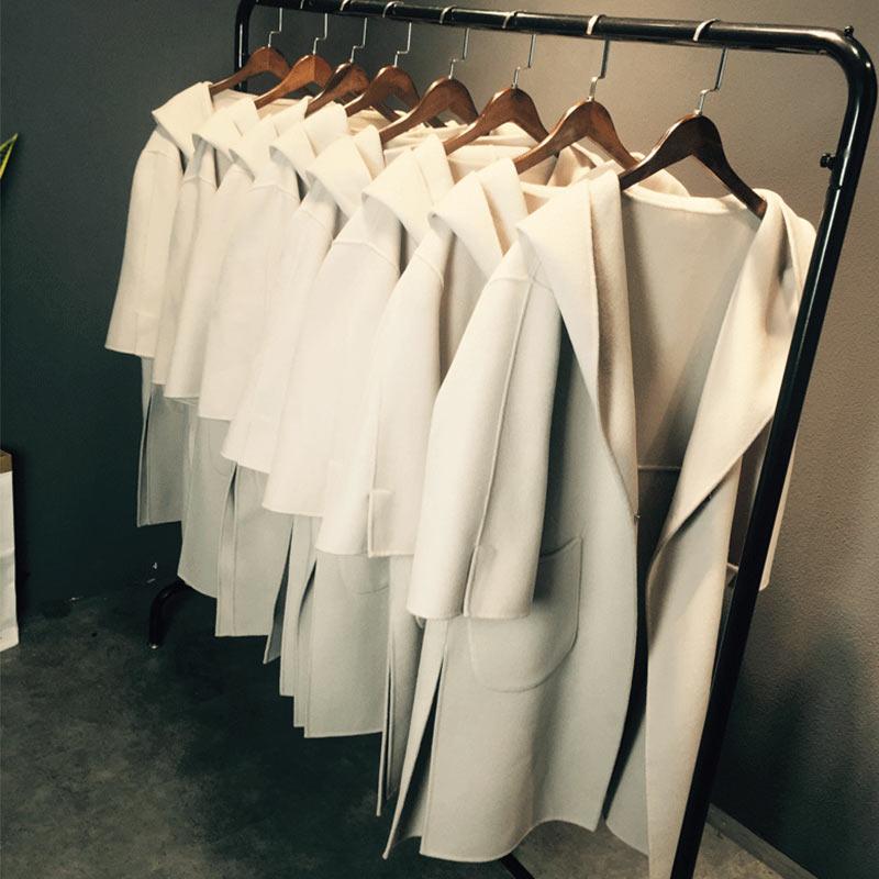 2017 осень зима для женщин; Большие размеры шерстяная куртка пальто Украина новые длинные с капюшоном тонкий 100% Шерстяное пальто женская обув