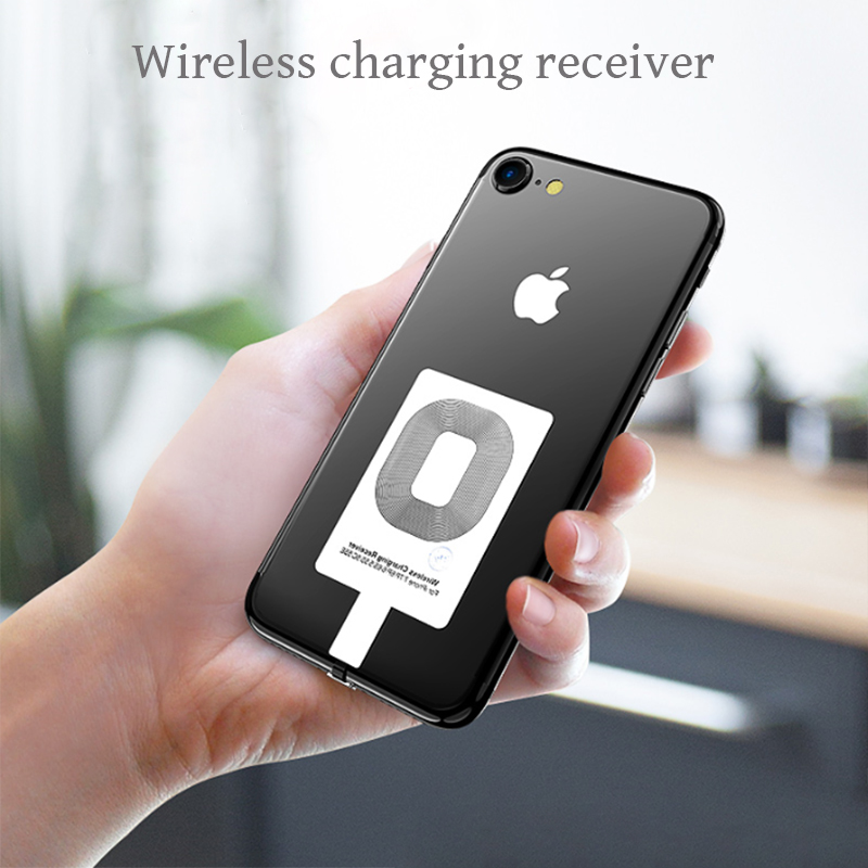Universal Qi Wireless Charger Receiver For iPhone 5 5S 7 6S 6 Plus Xiaomi Pad Android Micro USB Type C Smart Charging Receptor держатель для смартфона с функцией беспроводной зарядки
