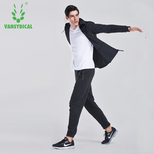 Men Cotton Sport Running Suit Loose Sportswear Gym Coat Pants Basketball Workout Clothes Soccer Training Tracksuits 3pcs/set