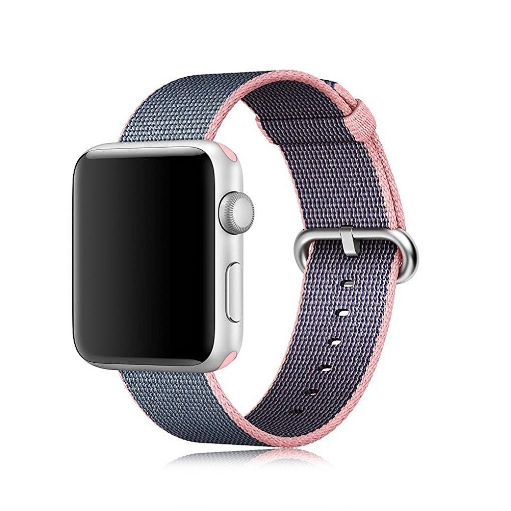 Prix pour Tissé Nylon bande Pour Apple Montre 38mm 42mm bracelet poignet bracelet apple montre smart watch bracelet pour Série 1 2 montre accessoires
