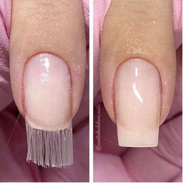 Fibernails Fiberglass White Used For Nail Extension Acrylic Nails ...