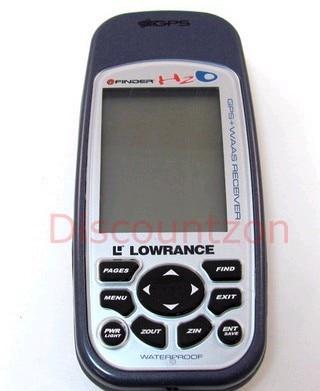 Lowrance Navigator iFinder H2O Outdoor IPX7 Waterproof Handheld GPS Receiver WAAS Enabled